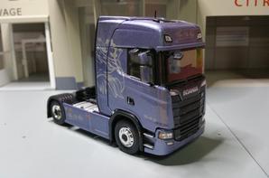 tracteur scania s730 v8 king of the road modèle eligor au 1/43.