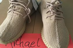 Authentic Yeezy  350 Oxford Tan