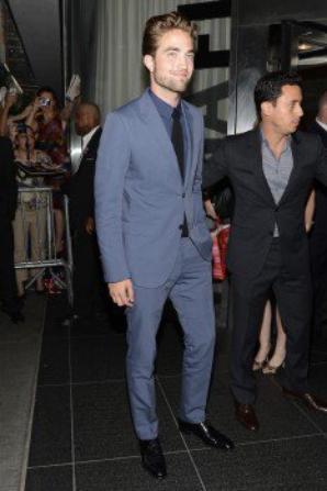 Robert Pattinson à l'avant première de Cosmopolis (NYC)