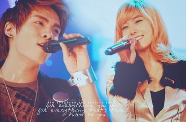 "Os : ""In my memory, won't my heart believe "" JongSica <3"