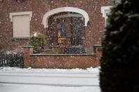 Neige hier à Spa