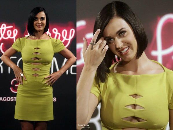 Katy Perry : défilé de looks colorés et sexy au Brésil !