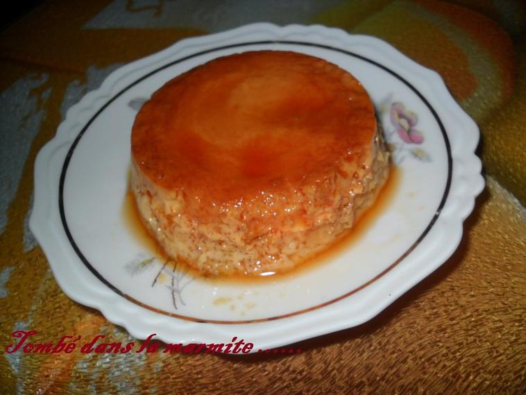 Flan au Caramel