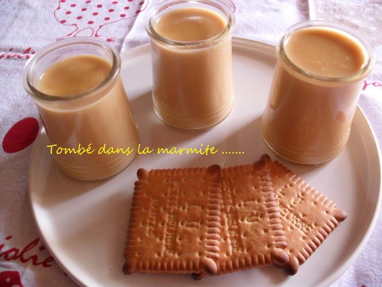 Crèmes dessert aux petits-beurre