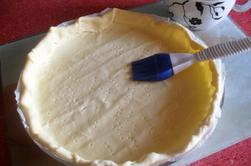 Tarte au fromage de chèvre