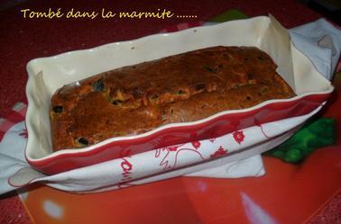 Cake au chorizo et  à la courgette