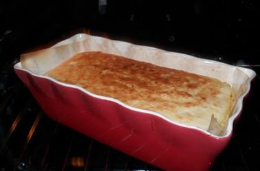 Cake aux pommes et au mascarpone