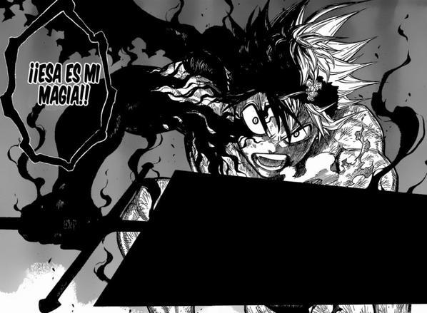Nouveau manga phenomene :BLACK CLOVER