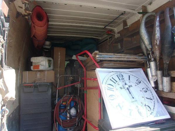 camion charger et remorque ausi en avant le sud