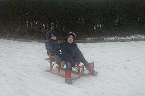 journée dans la neige