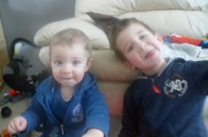 journée avec nos petits neveus