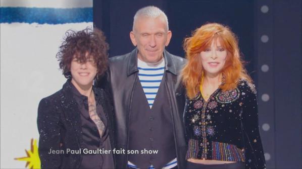 Mylène Farmer et LP chantent « N'oublie pas » dans « Jean Paul Gaultier fait son show