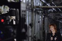 Tournage du clip Désobéissance -MYLENE FARMER