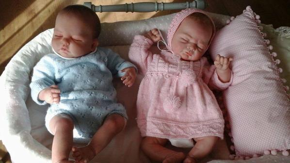 Alyssia et Jules, les bébés de mon amie Zaza