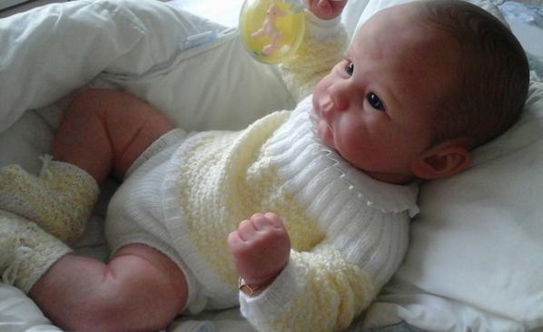 Joseph, le bébé d'Isabelle