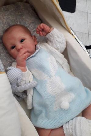 Joseph le beau bébé de mon amie Zaza