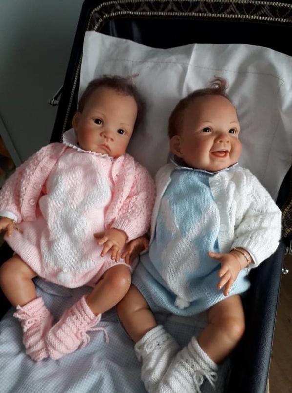Paul et Virginie, bébés de ma Zaza