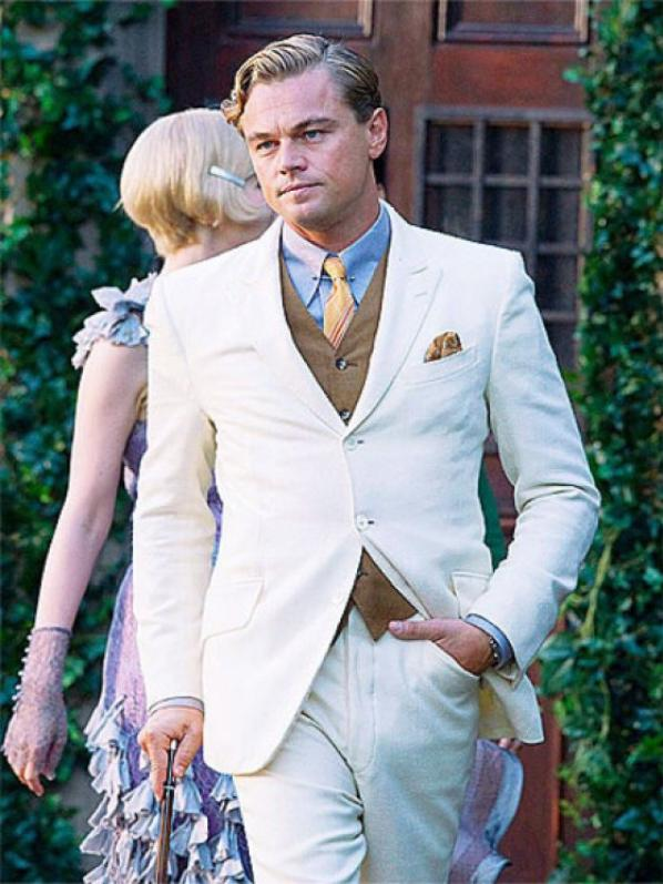 The Great Gatsby Suit by Leonardo Dicaprio
