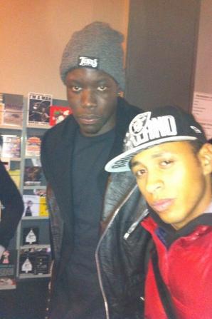 Avec Fabay, S.Pri Noir et Still Fresh à la maroquinerie