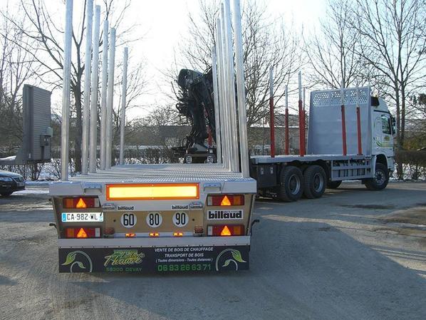mercedes camion remorque