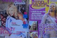 Voici certaines photos des magazines que j'ai que sur BRITNEY !!