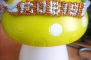 Bracelet brésilien avec prénom!
