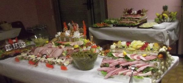 le buffet de mon mariage