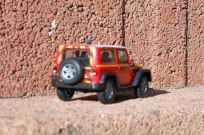 Jeep rangler 1:43ème greenlight