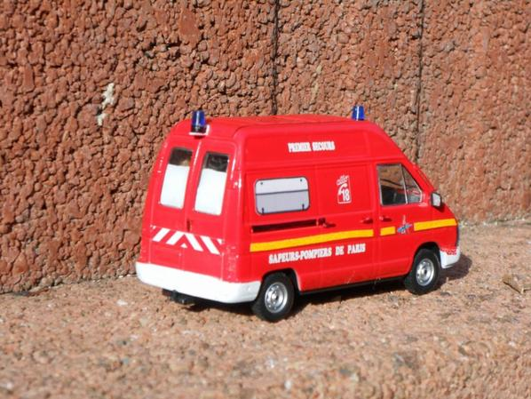 Renault trafic 1989 VSAB premiers secours