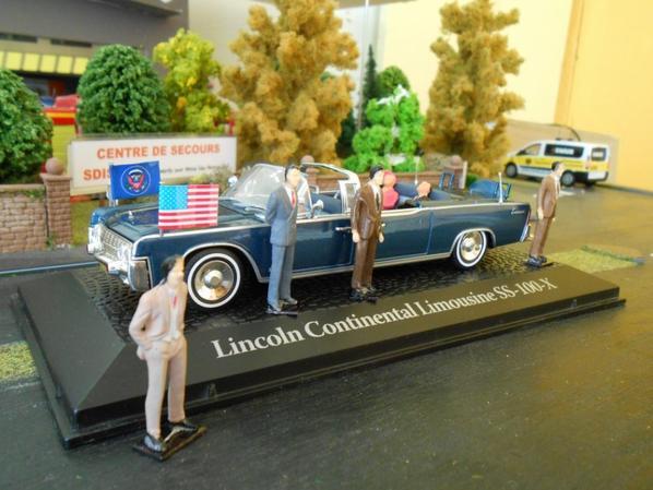 Lincoln continentale président JFK