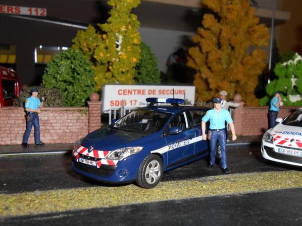 Mégane Gendarmerie Mégane Douanes Laguna Gendarmerie