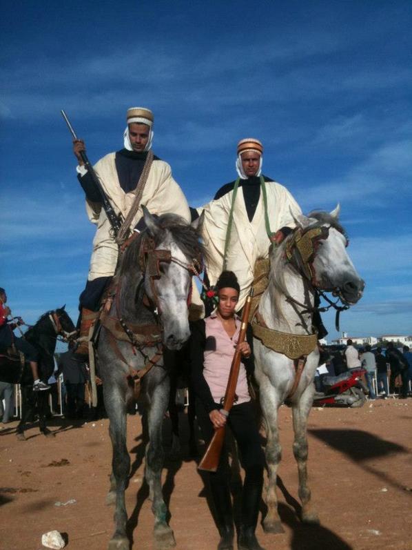 Festival de fantazia en Algerie Octobre 2012