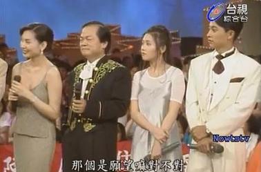 Loletta chantant à une émission taiwanaise