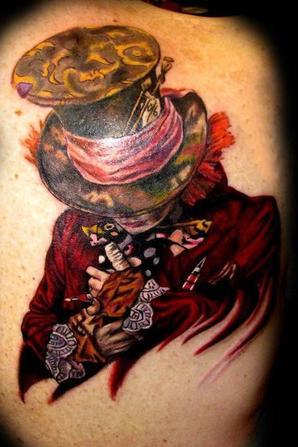 Tim Burton Nocturnal Tattoos