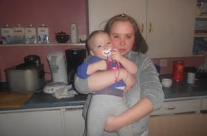 moi et mon bébé d'amour
