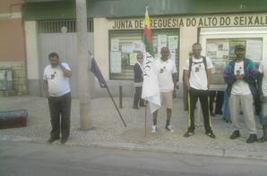 PARTICIPAÇÃO DA ASSOCIAÇÃO AFRICANA NO 39 ANIVERSÁRIO DA JUNTA DE FREGUESIA DO ALTO DO SEIXALINHO