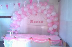 festa de arromba no aniversário da Karen- organizado pela Anabela na Zona 4