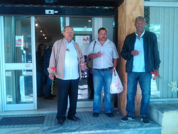 25 de Abril de 2014 nas instalações da União de Juntas do Alto do Seixalinho -Santo André e Verderena
