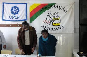 tomada de posse dos corpos sociais da Associação Africana 2014/2015