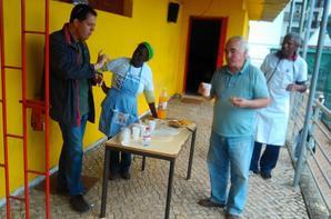 O DIA B NA ZONA 4 ..O TRABALHO DE RECUPERAÇÃO DA REDE DO CAMPO