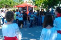 festa do dia 10 de junho na Av, Bento Gonçalves