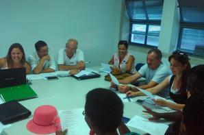 GRUPO DE TRABALHO COMPOSTO PELAS ASSOCIAÇÕES :ILHA DAS GALINHAS ,RUMO,ASSOCIAÇÃO ANGOLANA,ASSOCIAÇÃO AFRICANA,ASSOCIAÇÃO MOLDAVA,PRO-ASSOCIAÇÃO BRASILEIRA. ASSOCIAÇÃO BACHILE,SETEMBRO 2014 ,NO EDIFICIO AMERICO MARINHO