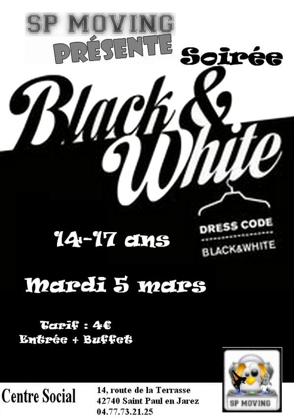 "Soirée ""Black and White"""
