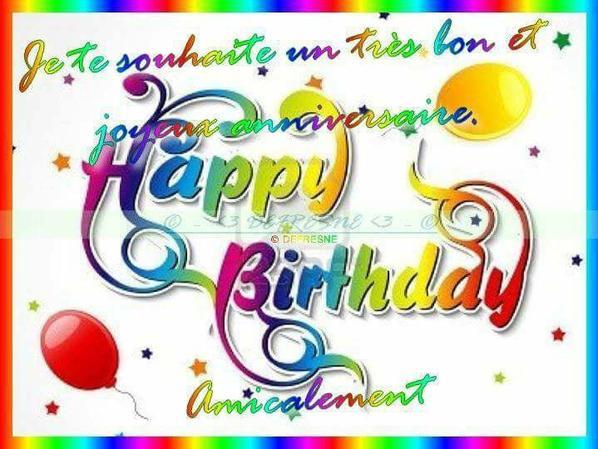 Je te souhaite un très bon et joyeux ;)  anniversaire :D  chou, 23 bisous
