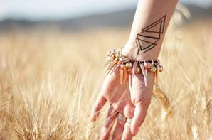 triangle tatouage