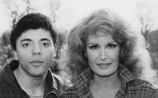 Dalida et son fan.