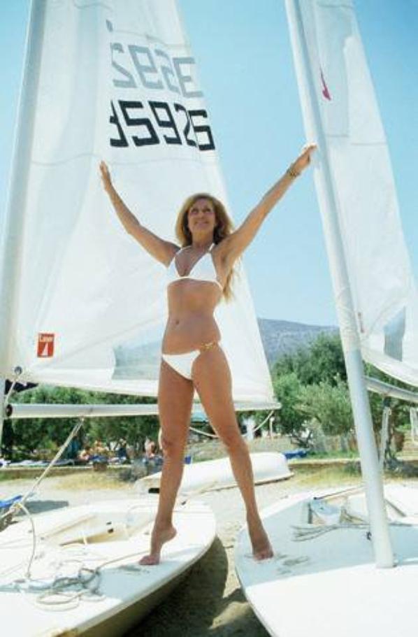 En vacances a Crête le 10 juin 1980.