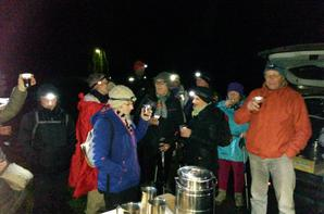 RANDO DE NUIT - PONT L'EVEQUE - 03 FEVRIER 2017