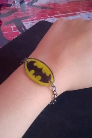 Bracelet Batman fais maison