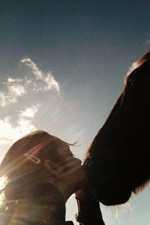 Tu es le reflet de ton cheval.